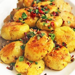 分类图片 Pan Fried Potatoes with Mala Flavor