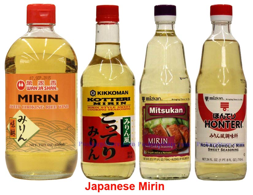Japanese Mirons Cooking Wines