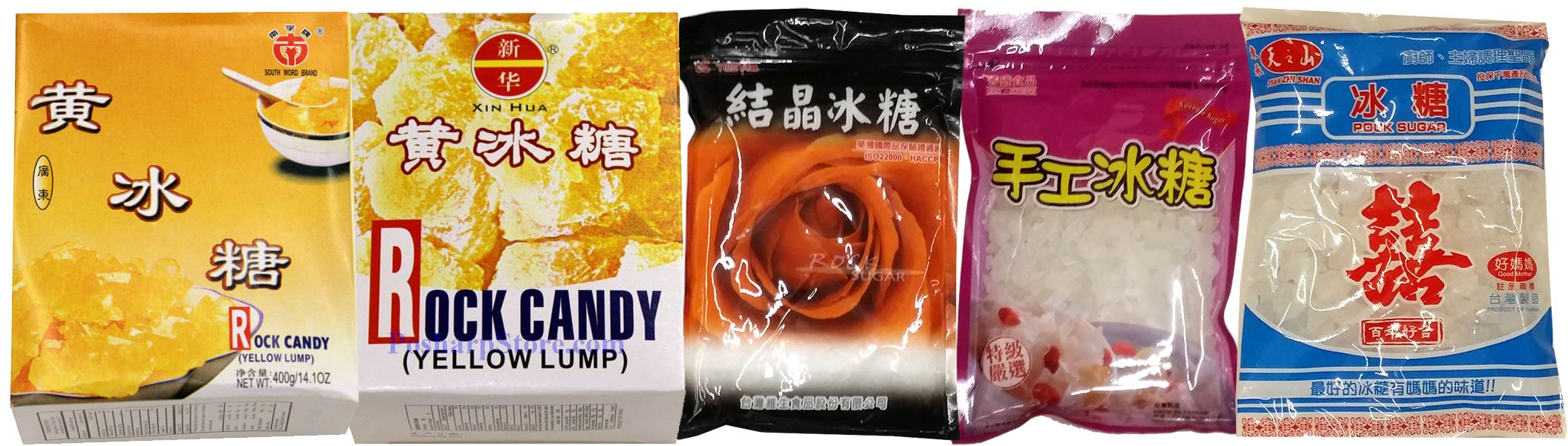 Chinese Rock Sugars in US Supermarkets