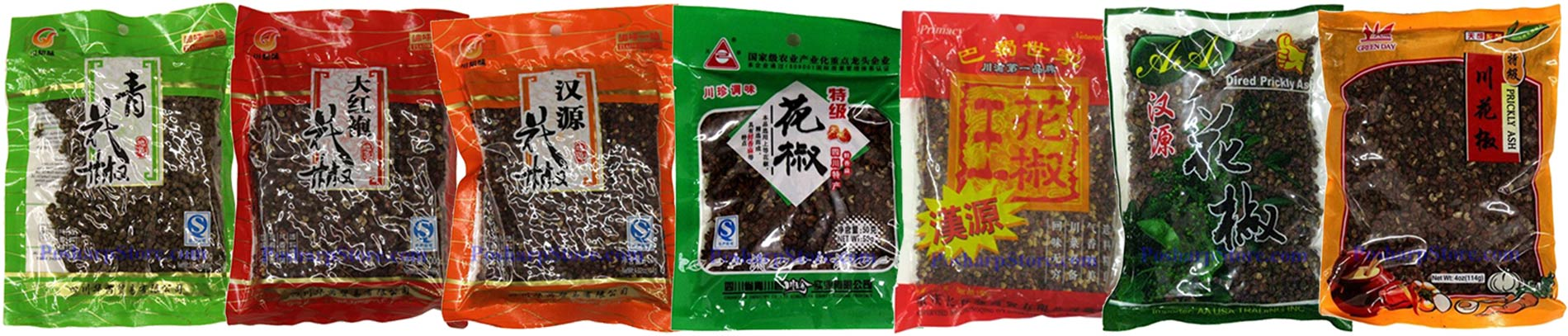 Sichuan Peppers in US Grocery Stores