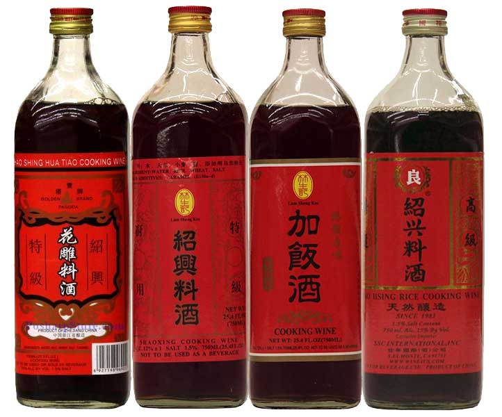 Chinese Shaoxing Chinese Cooking Wines