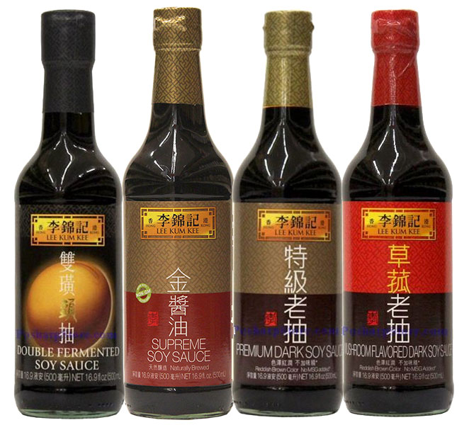 Lee Kum Kee Soy Sauces Recommended