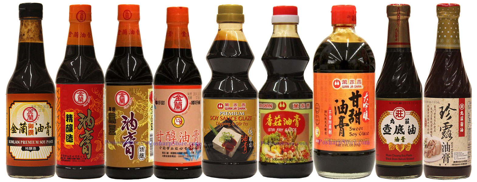 Taiwan Thick Soy Sauces