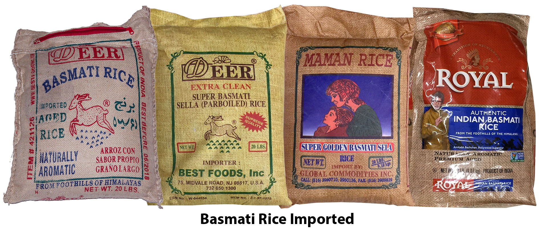 White Basmati Rices