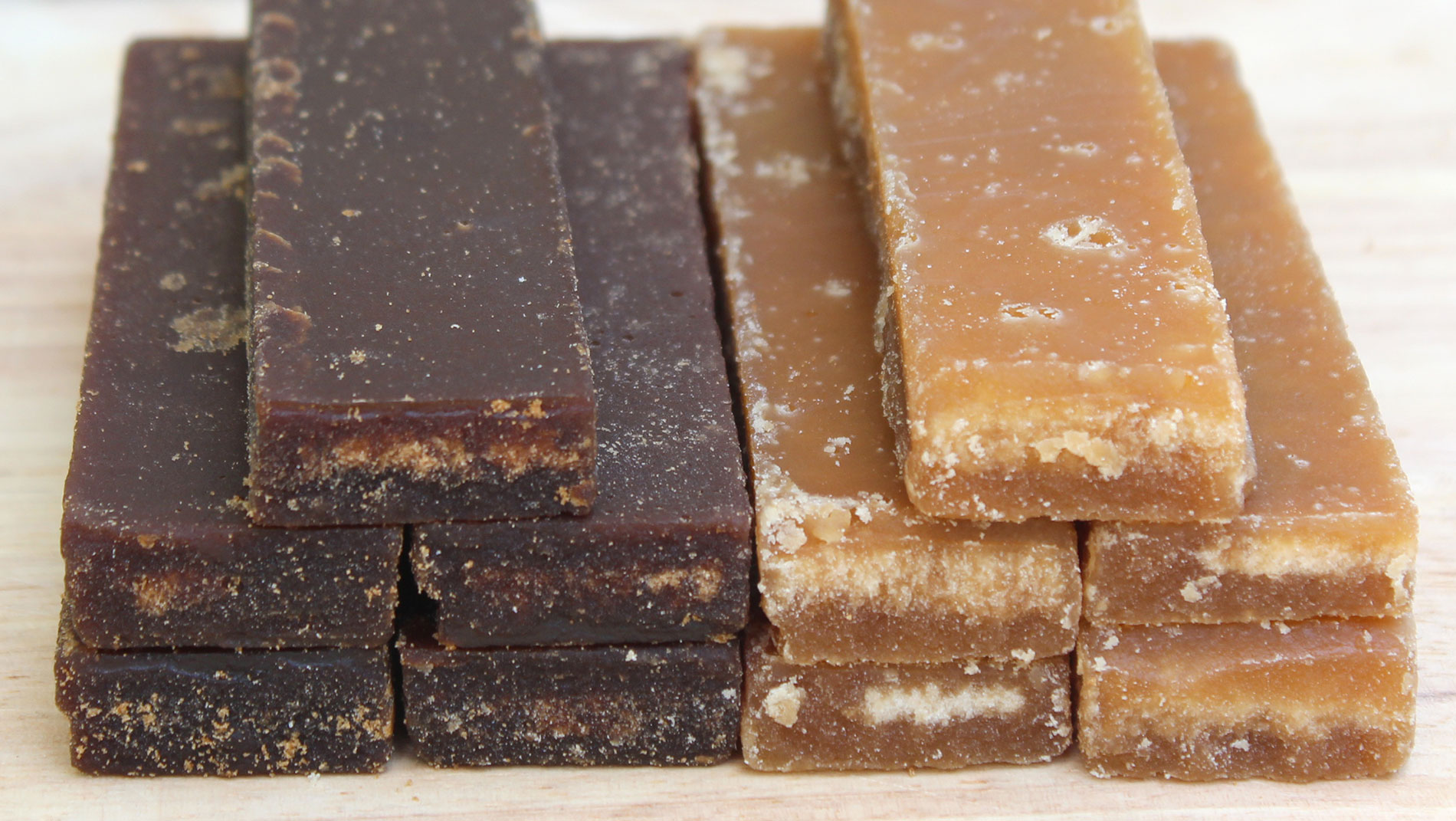 Brown Rock Sugar Bar vs Chinese Brown Sugar