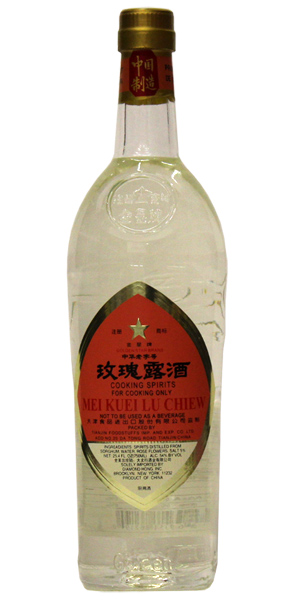Chinese Cooking rose wine (Mei Kueilu Chiew)