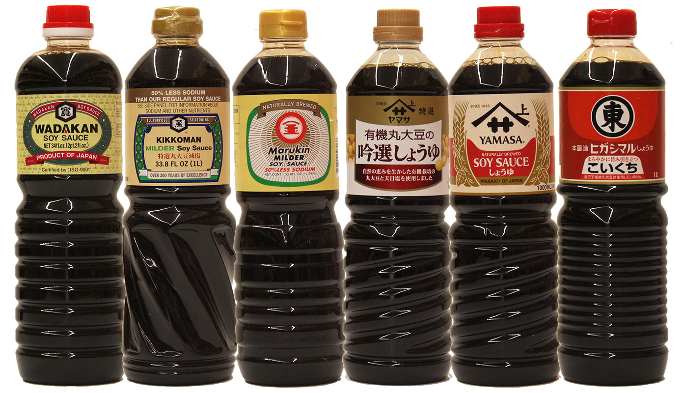 Soy Sauces Made in Japan