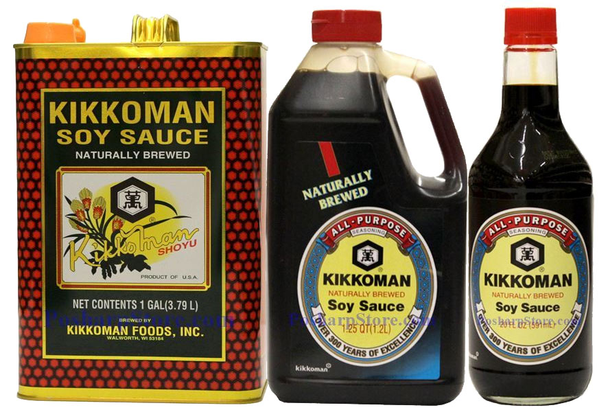 Kikkoman Soy Sauces Recommended