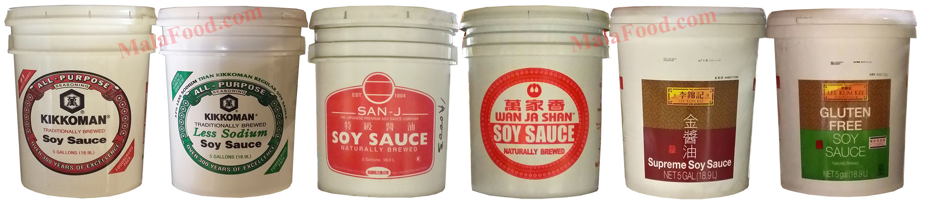 Soy Sauces for Restaurants