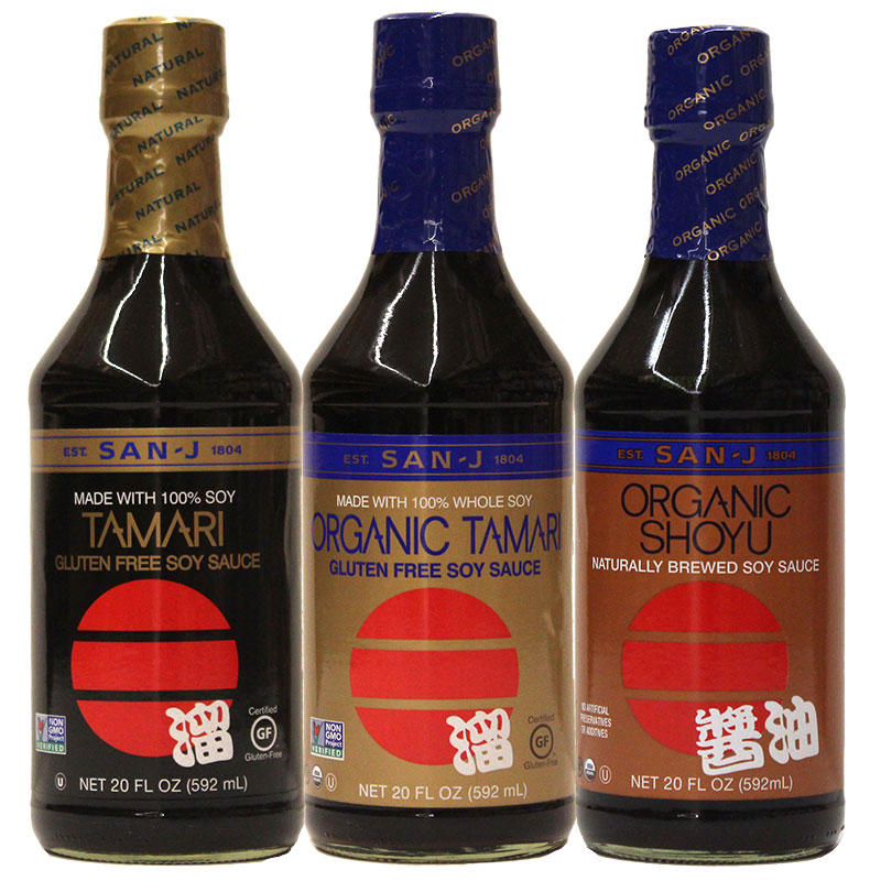 San-J soy sauce Recommended