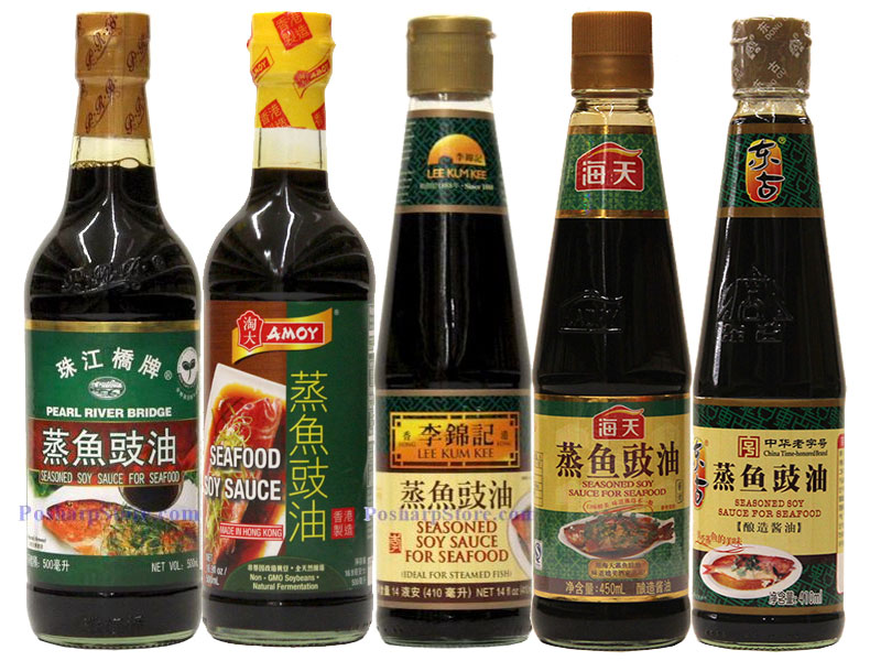 Seasoned Soy Sauce for Seafood