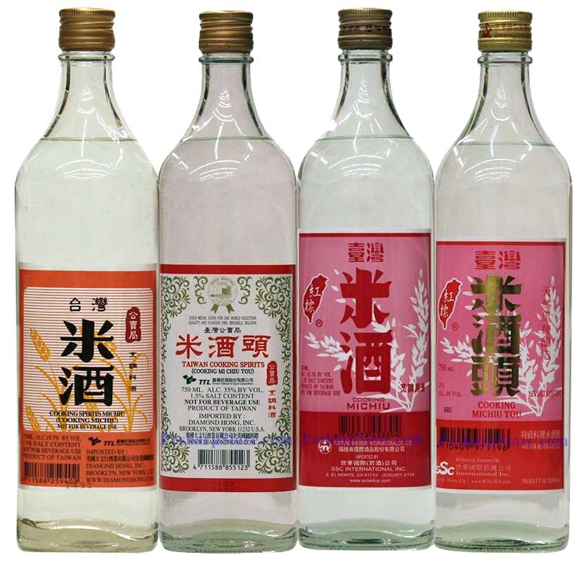 Taiwan Michius Cooking Wines